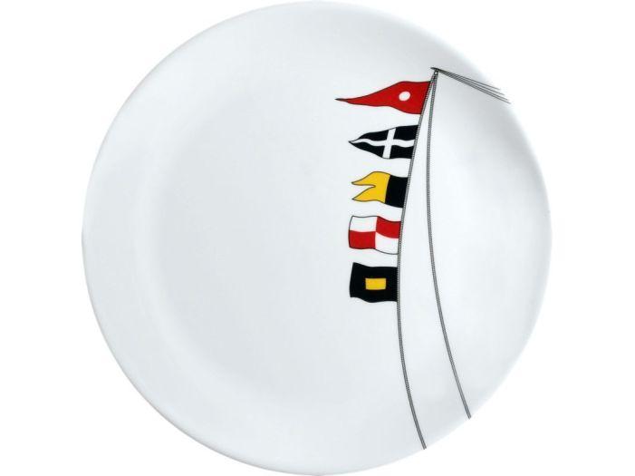 REGATA тарелка обеденная с нескользящей основой