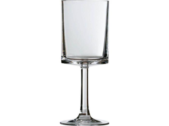 COLUMBUS бокалы для воды, белые, набор 6 шт.