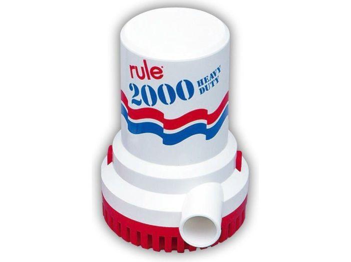 Помпа трюмная RULE 2000_24В