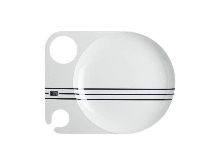 CANNES коктейльная тарелка с нескользящей основой