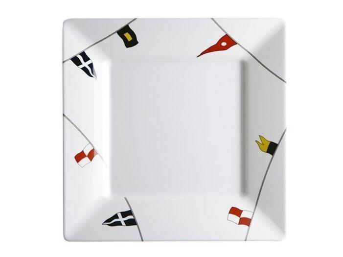 REGATA тарелка плоская, квадратная набор 6 шт.