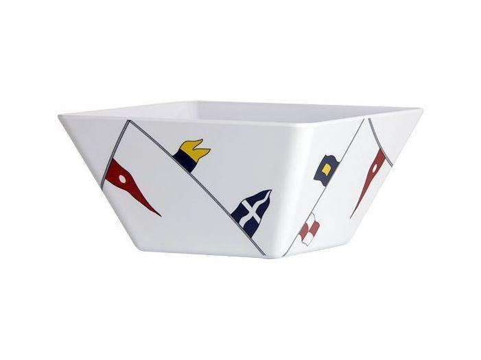REGATA тарелка для супа с нескользящей основой, квадратная набор 6 шт.