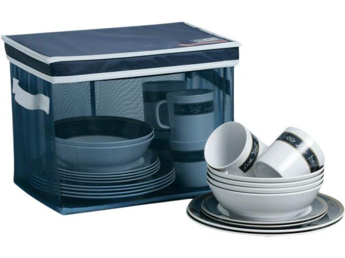 NEPTUNO набор посуды на 6 персон, 24 предмета
