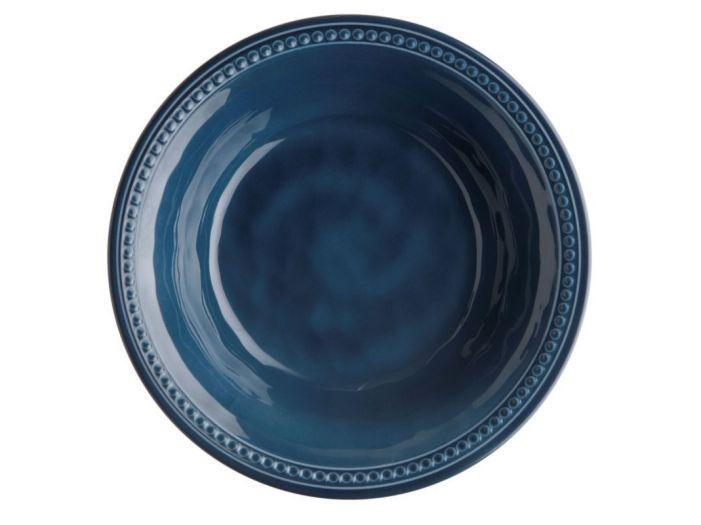 HARMONY тарелка глубокая, голубая набор 6 шт.