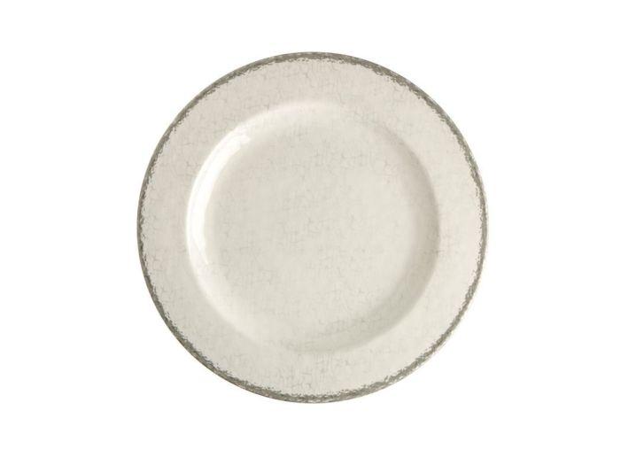 TOSCANA тарелка десертная, цвета слоновой кости набор 6 шт.