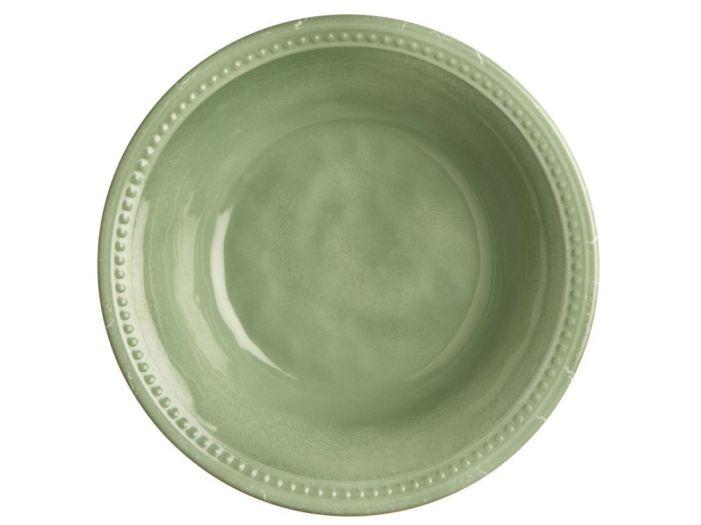 HARMONY тарелка глубокая, зеленая набор 6 шт.