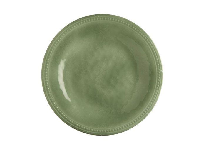 HARMONY тарелка десертная, зеленая набор 6 шт.