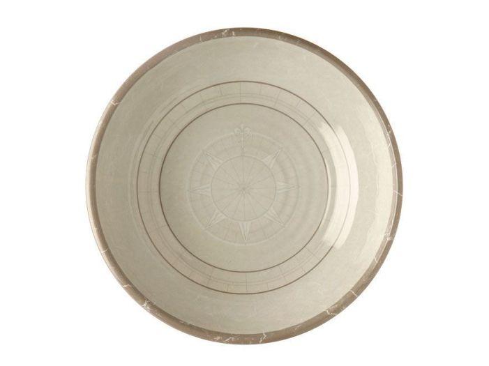 BALI тарелка глубокая, цвета слоновой кости набор 6 шт.