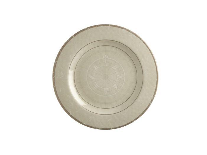 BALI тарелка десертная, цвета слоновой кости набор 6 шт.
