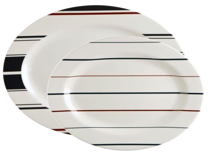 MONACO сервировочные тарелки, набор 2 шт.