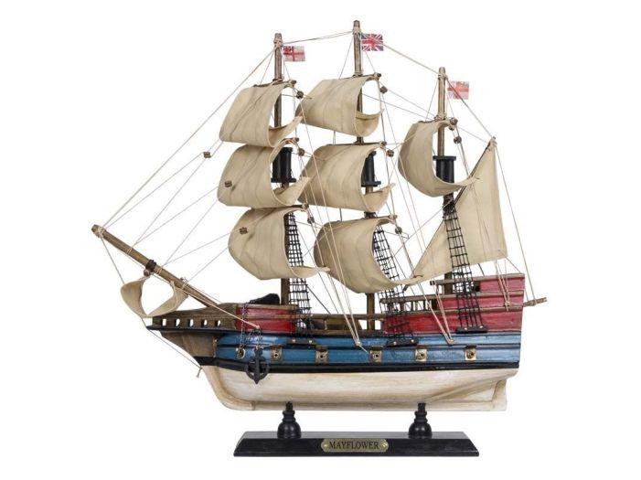 Модель парусной яхты 40 см