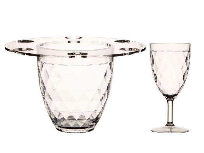 PARTY набор для шампанского + 6 чашек