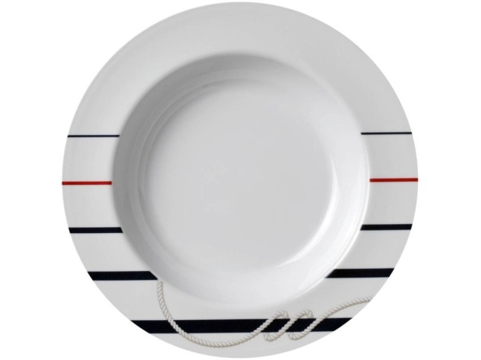 CANNES тарелка глубокая с нескользящей основой
