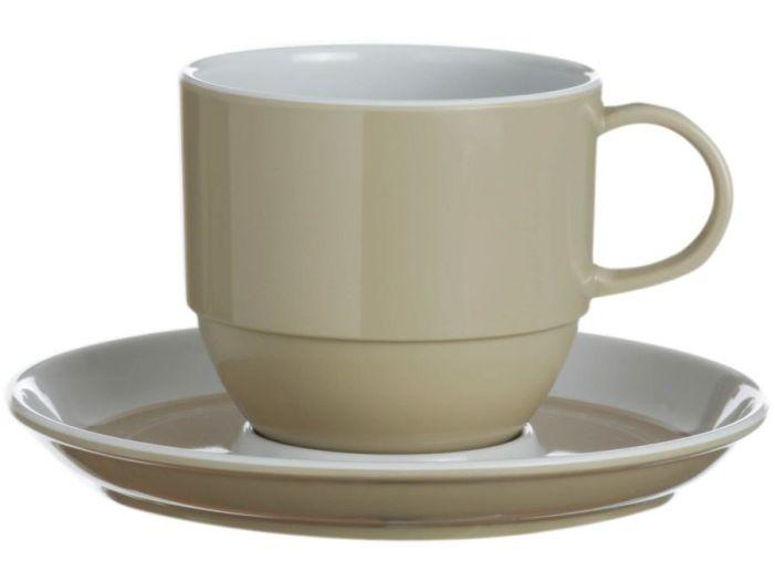 OCEANS чайная чашка с блюдцем, набор 6 шт.