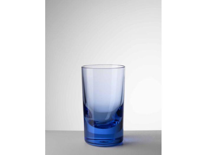 MARIO GIUSTI Стакан для воды WHISKEY, синий