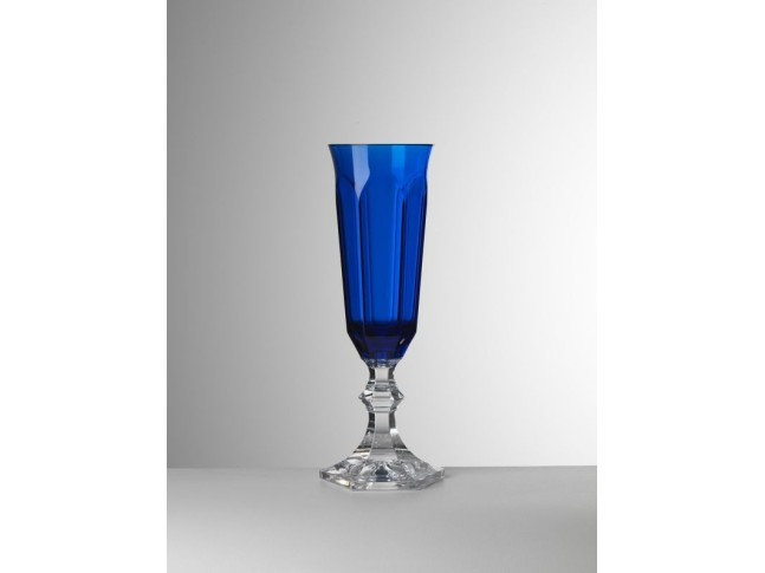 MARIO GIUSTI Бокал для шампанского Dolce Vita Flut, синий