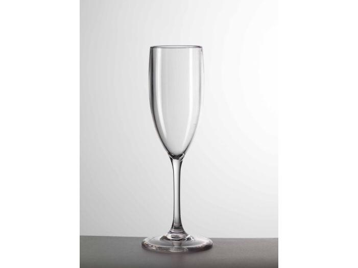 MARIO GIUSTI Бокал для шампанского Flut, прозрачный