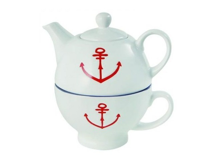 BATELA Чайник с чашкой Anchor