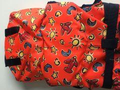 Жилет спасательный детский TYPHOON ISO 3-10кг (оранжевый с самолётами)