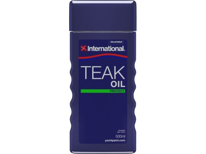 INTERNATIONAL Масло тиковое TEAK OIL 0,5 л