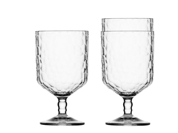 PARTY бокалы для вина прозрачные набор 12 шт.