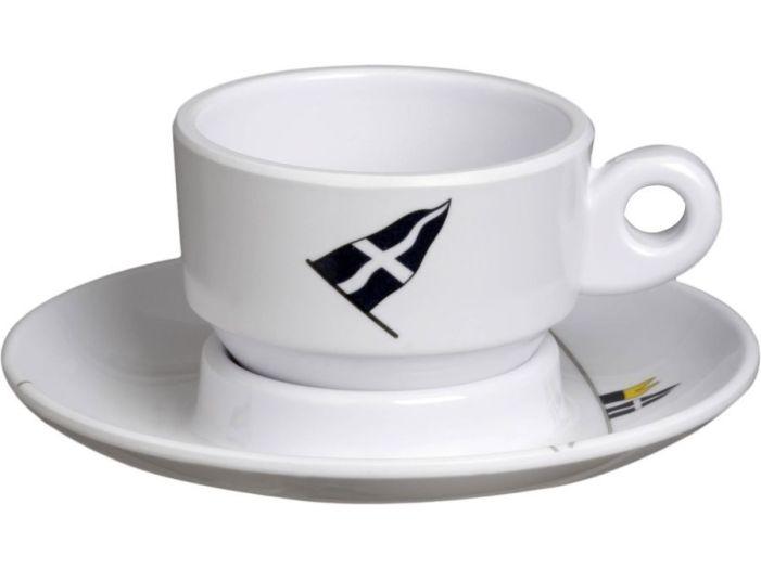 REGATA кофейная чашка с блюдцем