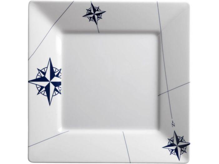 NORTHWIND квадратная тарелка большая ✵, набор 6 шт.
