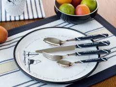 WELCOME ON BOARD тарелка обеденная с нескользящей основой, набор 6 шт.