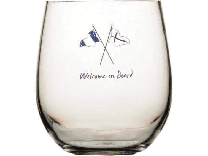 WELCOME Стакан для виски с нескользящей основой, набор 6 шт.