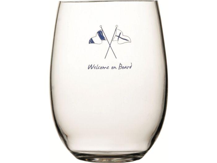 WELCOME Стакан для сока / воды с нескользящей основой, набор 6 шт