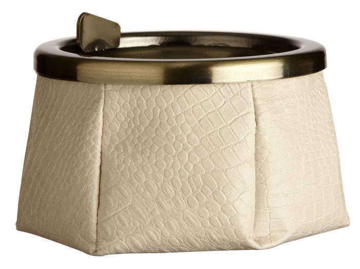 WINDPROOF Premium пепельница цвета слоновой кости, заменитель кожи (LIMITED EDITION)