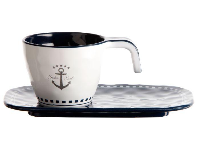 SAILOR SOUL кофейная чашка с блюдцем, набор 6 шт.