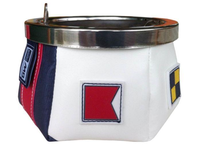 WINDPROOF Пепельница SPORT FLAGS, заменитель кожи (тяжелое основание)