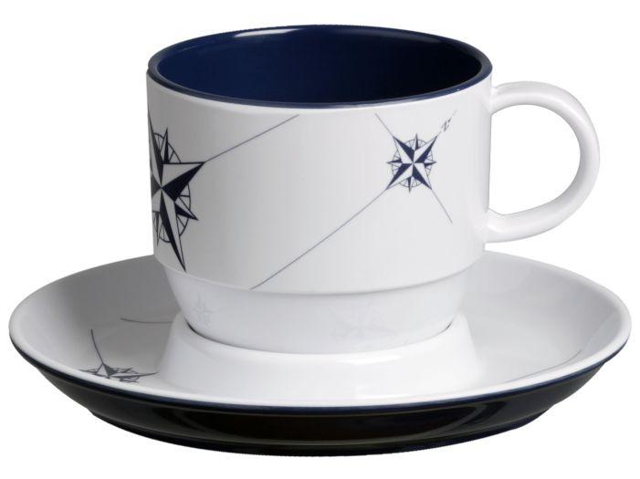 NORTHWIND чайная чашка с блюдцем, набор 6 шт.