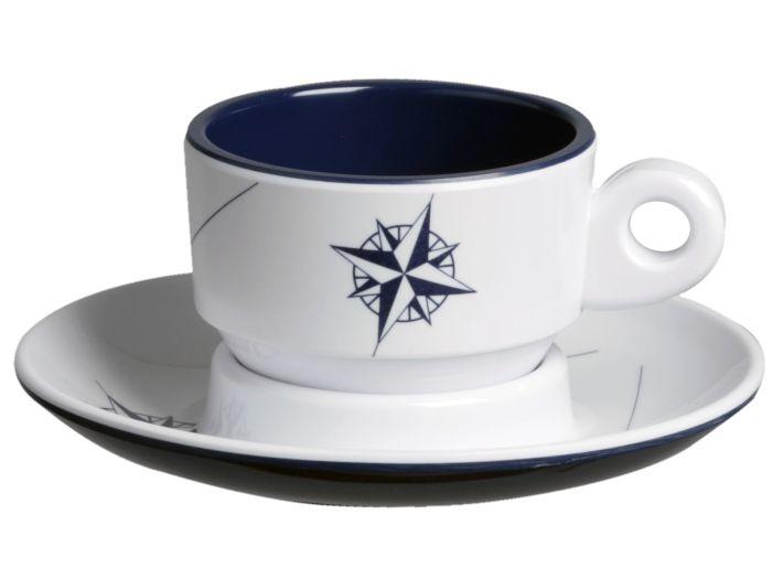 NORTHWIND кофейная чашка с блюдцем ✵, набор 6 шт.
