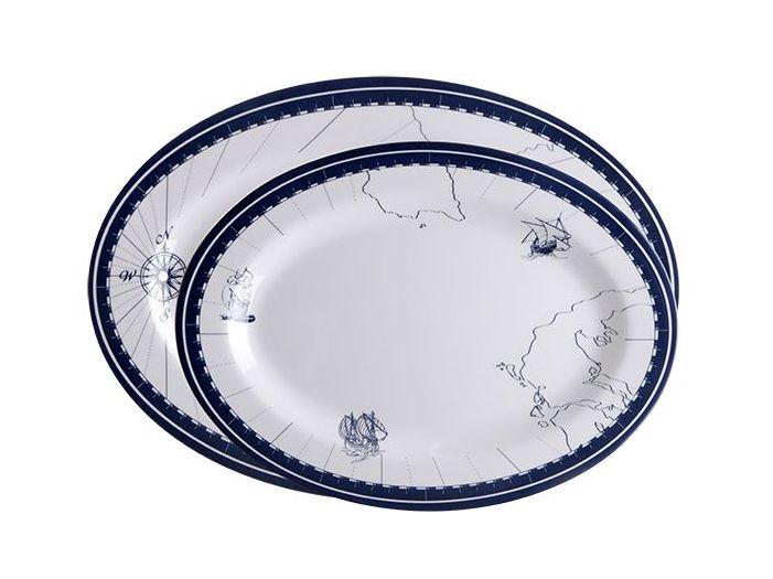 COLUMBUS сервировочные тарелки, набор 2 шт.