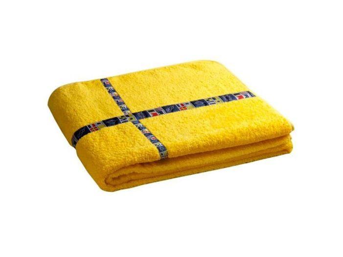 FREE STYLE Yellow пляжное полотенце с надувной подушкой, 180 x 100 см.