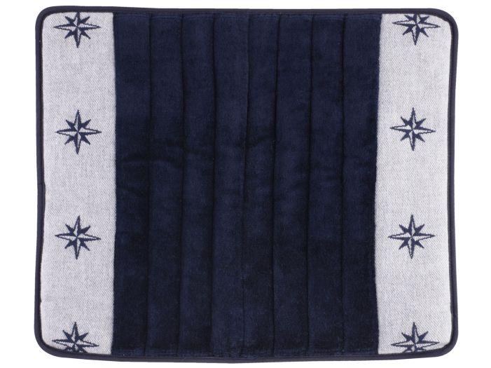 FREE STYLE Душевой коврик с нескользящей основой 50x40 см., синий