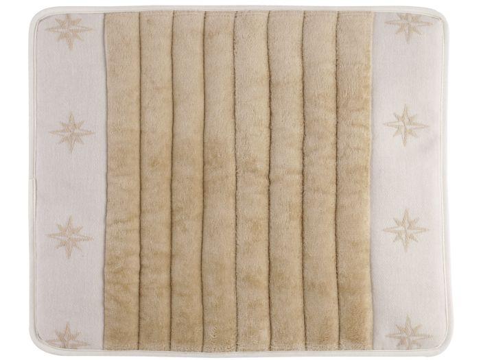 FREE STYLE Душевой коврик с нескользящей основой 50x40 см., бежевый