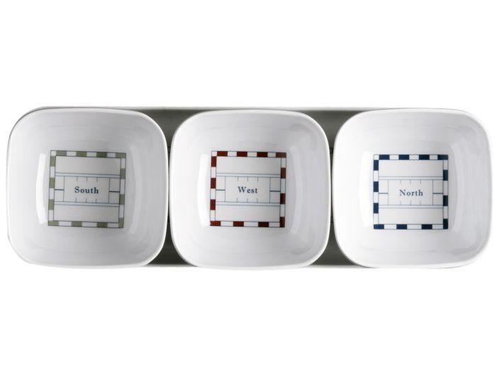 MISTRAL набор для закусок, 3 пиалки