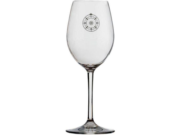 BALI Бокалы для вина с нескользящей основой, набор 6 шт.