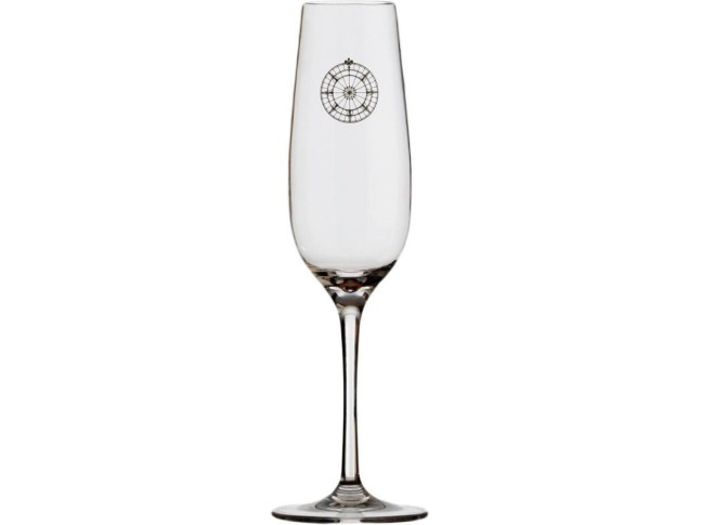 BALI Бокалы для шампанского с нескользящей основой, набор 6 шт.