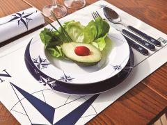 NORTHWIND набор посуды с нескользящей основой на 4 персоны с салатницей ✵, 13 предметов