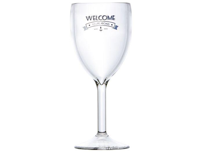 PARTY бокалы для вина PL Welcome, набор 6 шт.