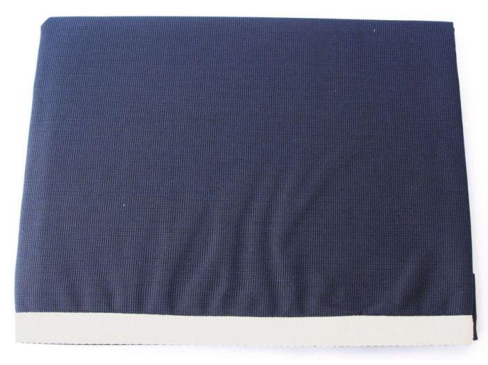 WATERPROOF Скатерть водоотталкивающая, синяя с бежевым бортом, 115 х 100 см