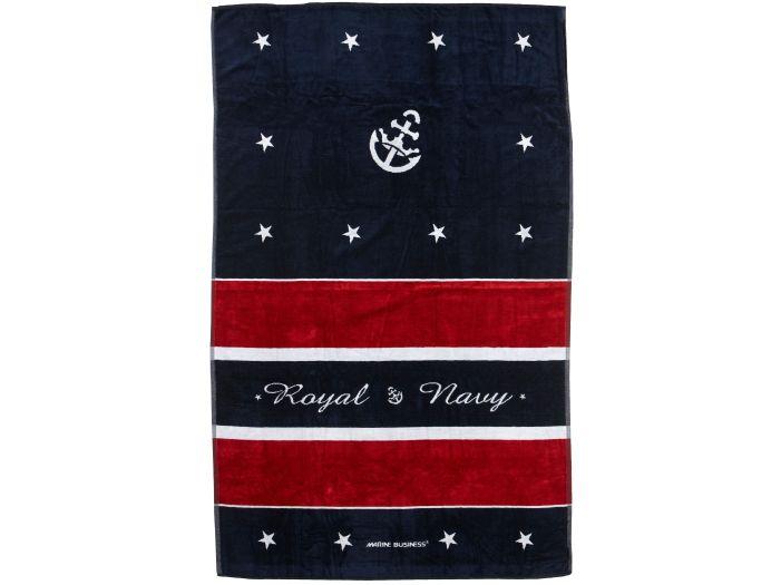 ROYAL Red пляжное полотенце с надувной подушкой, 180 x 100 см.