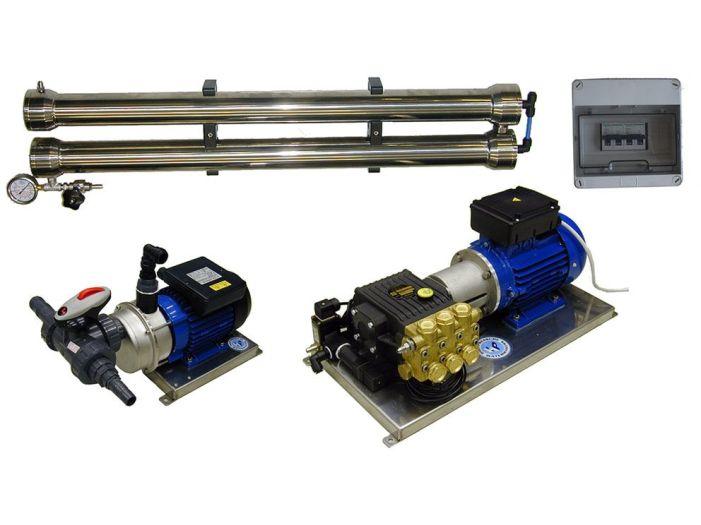 Морской опреснитель 70л/ч 220_380В разборной HP ECO70 Manual