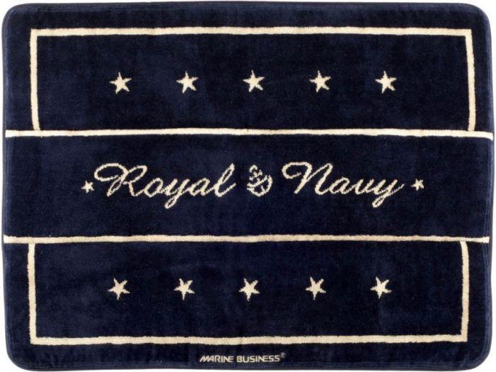 ROYAL Душевой коврик с нескользящей основой, синий