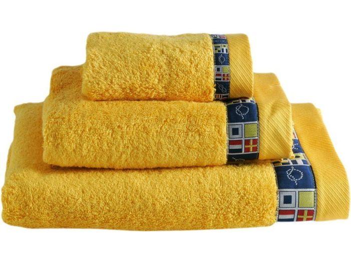 COLORS набор 3 полотенца, желтые