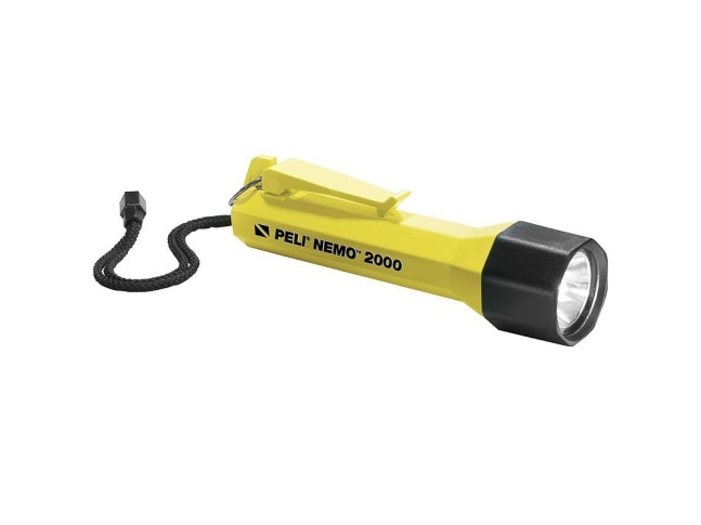 Подводный фонарь желтый PELI 2000 NEMO , YELLOW